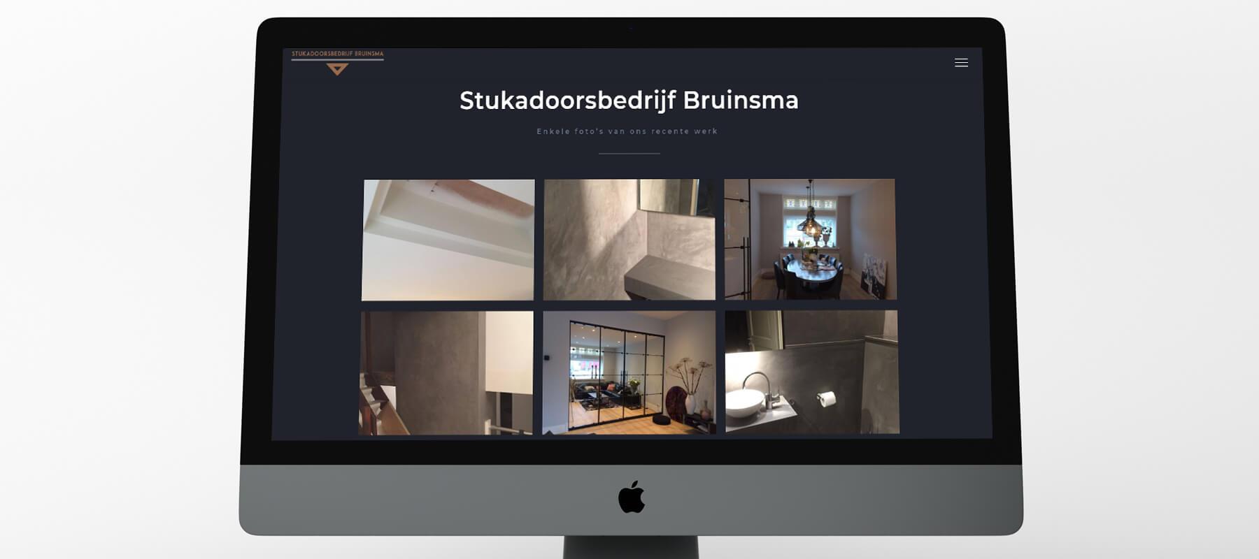 Klant Stukadoorsbedrijf Bruinsma - foto's