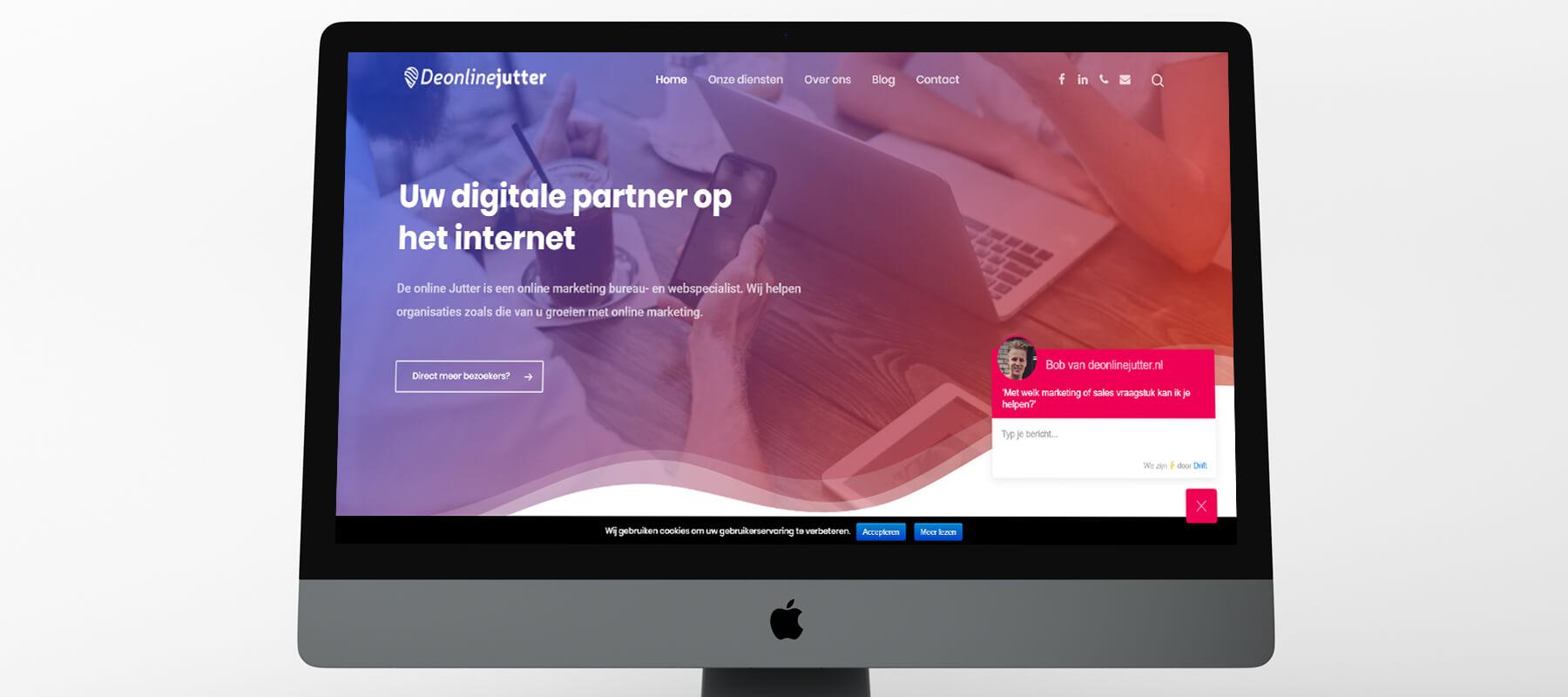 Nieuwe website voor De online Jutter - Homepagina